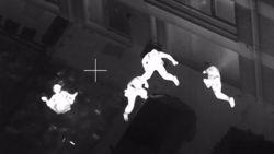 Gefilmd vanuit de lucht: spectaculaire achtervolging eindigt in vechtpartij