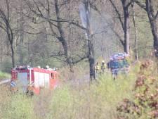 Brandweer rukt flink uit voor natuurbrand Ugchelen