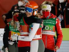 Dankzij Nederlandse Marita Kramer pakt Oostenrijk goud bij landenwedstrijd WK schansspringen