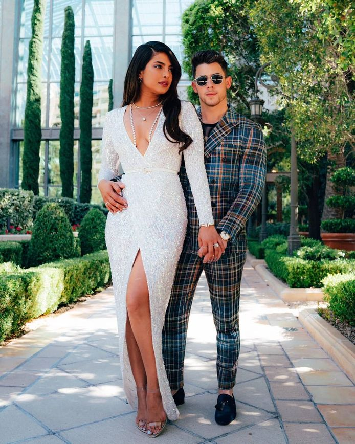 Priyanka Chopra en partner Nick Jonas