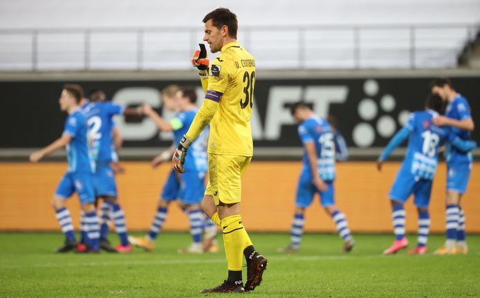 Hendrik Van Crombrugge ne jouera pas contre le Beerschot dimanche.