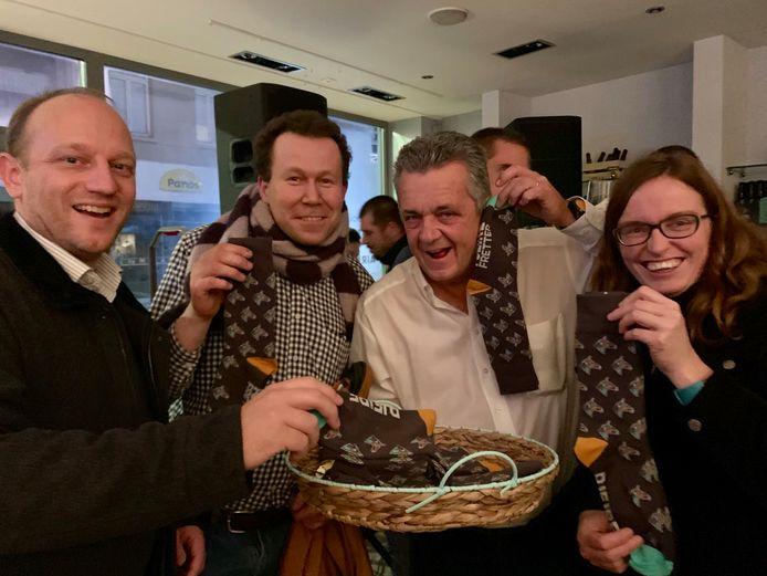 Opening Winterpop up Pjeirefretter 2019-2020 - de PJF sokken.