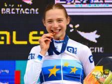 Elise Uijen uit Herpen verrast zichzelf op EK: 'Mathieu van der Poel stond voor me te klappen'