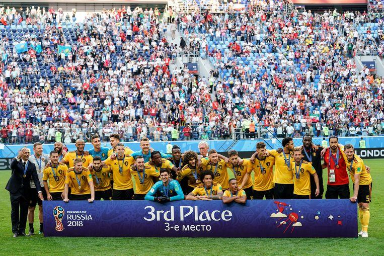 De Rode Duivels speelden op het WK ook al onder meer de kleine finale in het Krestovskistadion .