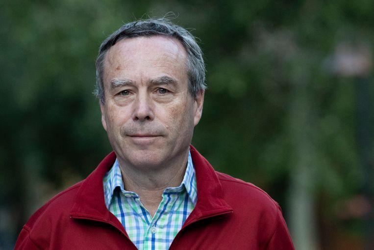 Lionel Barber was van 2005 tot 2020 hoofdredacteur van de FT, een van 's werelds invloedrijkste zakenbladen. Beeld Getty Images