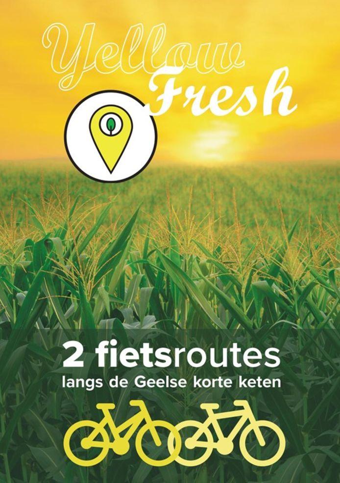 De fietsbrochure is gratis te verkrijgen bij de dienst toerisme en stadsanimatie.