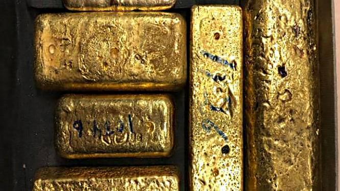 In één week 56 kilo goud en 150.000 euro aan cash onderschept op Schiphol