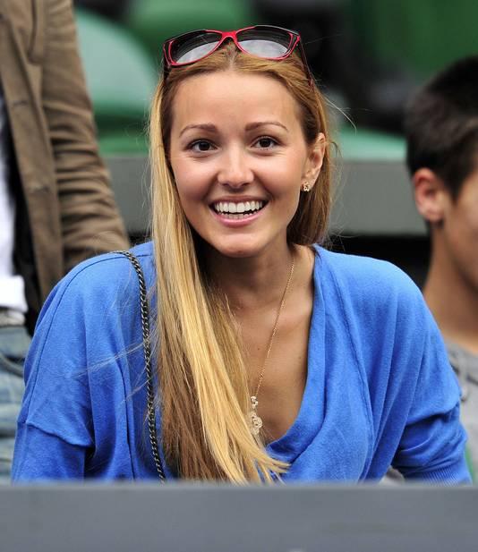Jelena Ristic, echtgenote van Novak Djokovic.