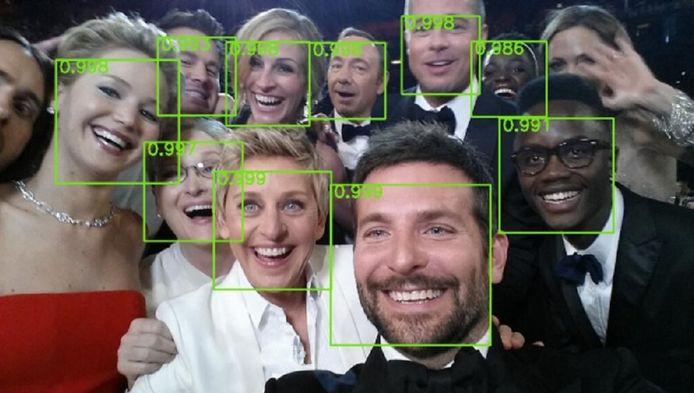 Hoe je ook kijkt of lacht, de nieuwe software zou alle gezichten moeten herkennen