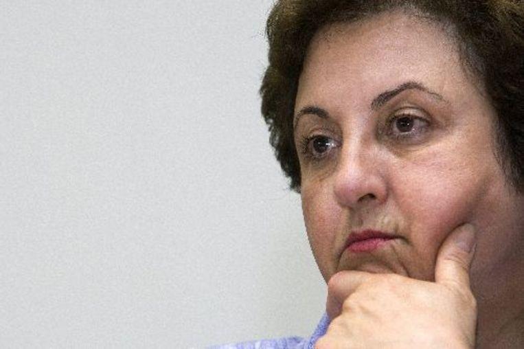 Shirin Ebadi heeft de Nobelprijs die Iran haar afnam, teruggekregen. Beeld