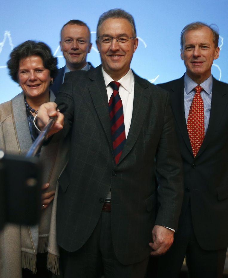 Rotterdams burgemeester Ahmed Aboutaleb Beeld ANP