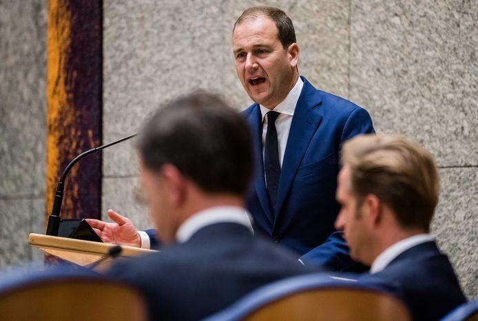 Lodewijk Asscher (PvdA) tijdens de Algemene Politieke Beschouwingen