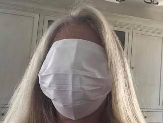 """Hilariteit over mondmaskers in Aalst: """"Het zijn precies lakens"""""""