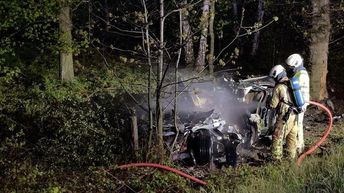 De brandweer had de vlammen uiteindelijk relatief snel onder controle.