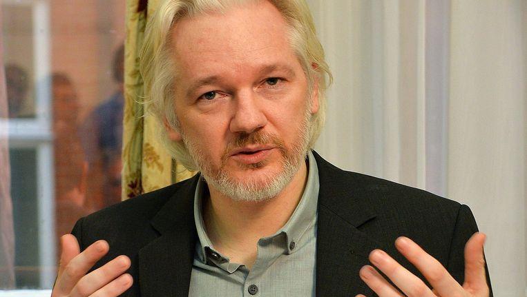Julian Assange. Beeld anp