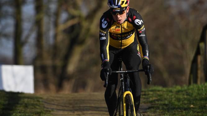 """Wout van Aert klaar voor eerste cross van 2021: """"Zal weinig tactiek mee gemoeid zijn"""""""