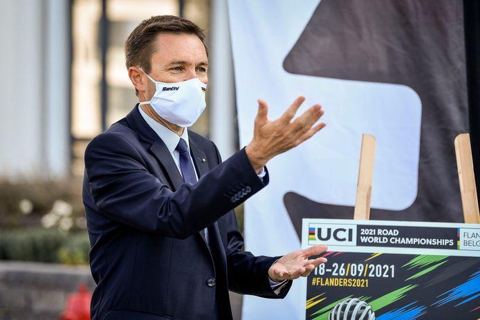 UCI-voorzitter David Lappartient.