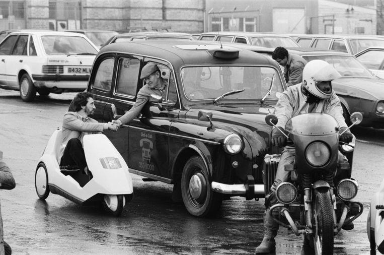 De C5 in Londen, 1985. Beeld Getty