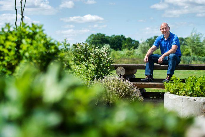 Ernst Jonkers, eigenaar van Streekpark Klein Oisterwijk.