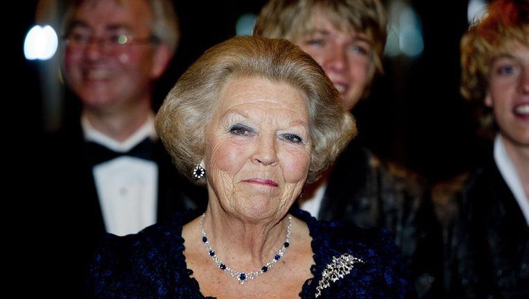 Koningin Beatrix (of haar troonopvolger prins Willem Alexander) zal voortaan geen rol meer spelen bij de kabinetsformaties na landelijke verkiezingen. Beeld anp