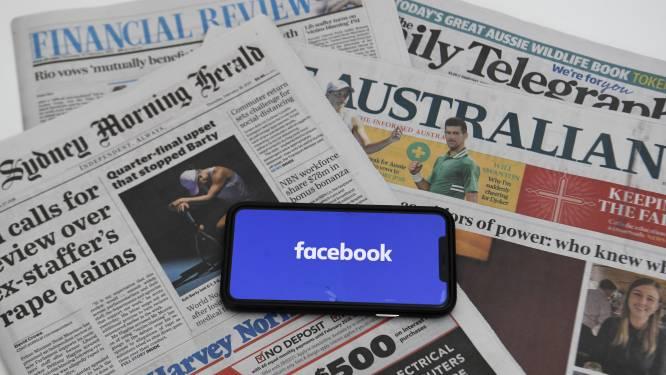 Australië overlegt met Facebook na nieuwsblokkade
