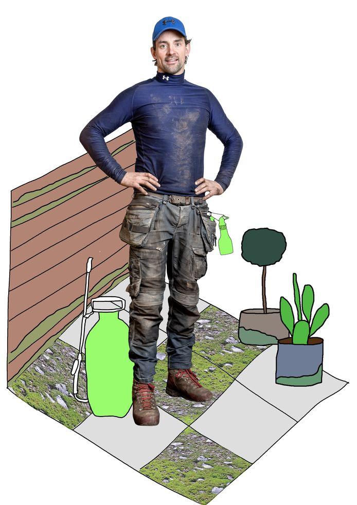 Groene Aanslag In De Tuin Laat De Hogedrukspuit In De Schuur Tuintips Ad Nl
