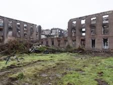 Haarendael vier maanden na de brand: alsof je in een verlaten oorlogsgebied loopt