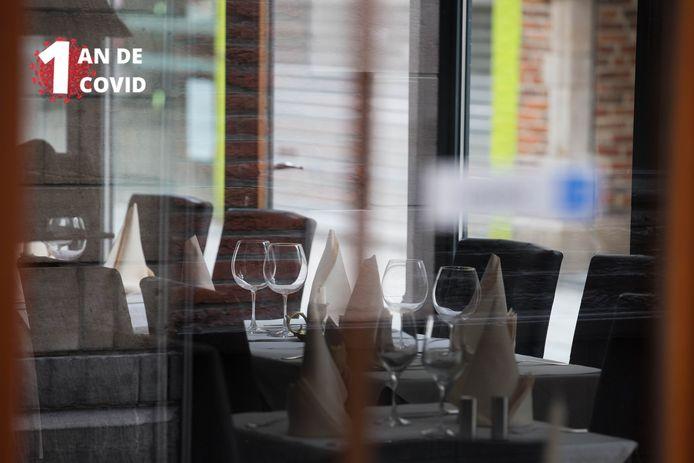 Les restaurants ont payé un lourd tribut à la crise sanitaire (archives: Bruxelles, rue des Bouchers)