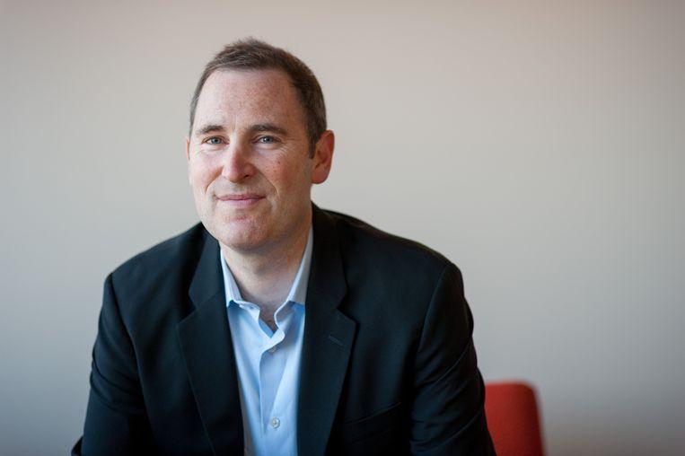 Andy Jassy was tot voor kort de baas van Amazon Web Services en is sinds 1997 in dienst van het bedrijf. Beeld Photo News