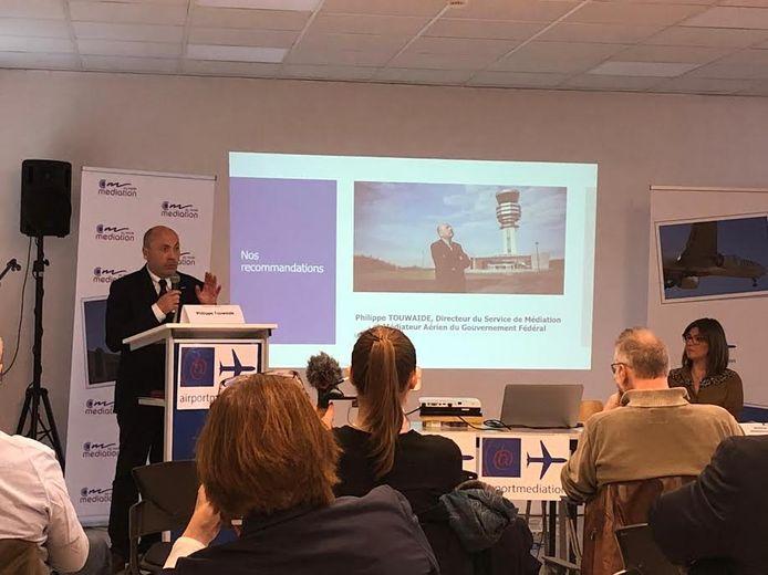 Philippe Touwaide, ombudsman voor de luchthaven