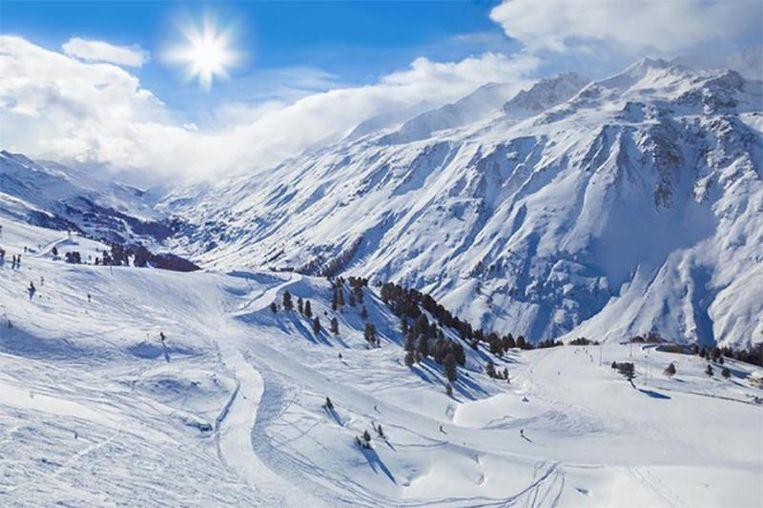 In de Alpen worden recordtemperaturen gemeten. Beeld thinkstock