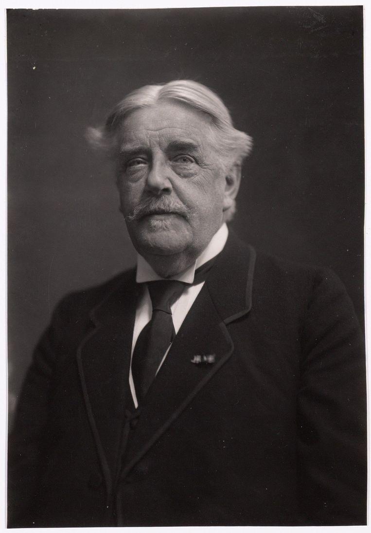 Ongedateerde foto van Louis Blankenberg, een van de oprichters van de vereniging Liefdadigheid naar Vermogen.   Beeld