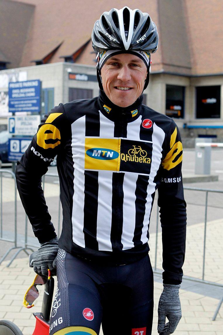 Serge Pauwels staat voor zijn tweede deelname aan de Tour. In 2010 debuteerde hij in de Tour voor Sky Beeld PHOTO_NEWS