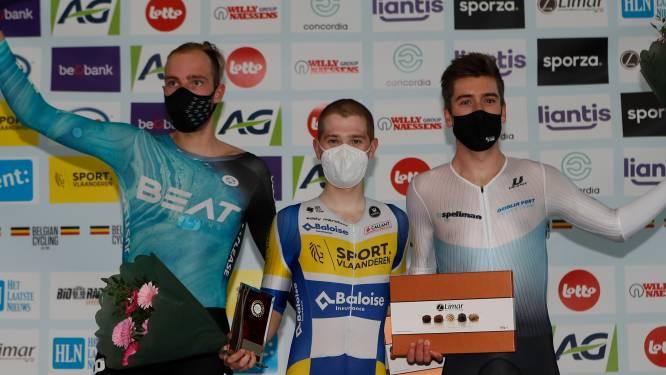 Na valse start boekt Fabio Van den Bossche enige Belgische zege in International Belgian Track Meeting