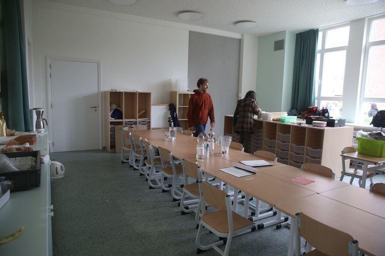 Opening school Malem.