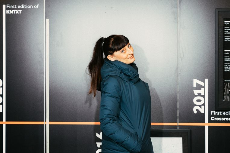 Resident-dj Trish Van Eynde: