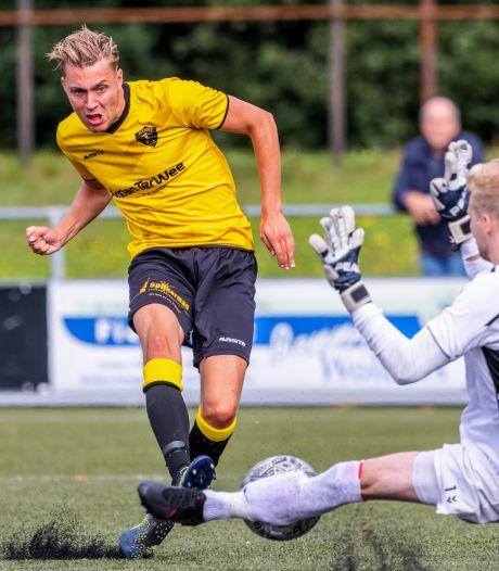 Uitslagen amateurvoetbal regio Zwolle: doelpuntenfestijn bij Alcides, Dalfsen verliest