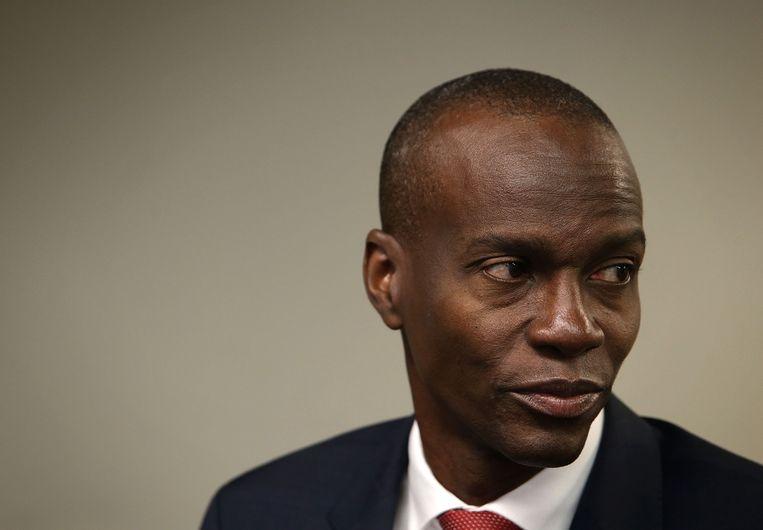 De Haïtaanse president Jovenel Moise. Beeld Getty