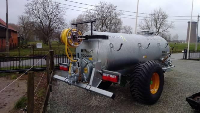Gemeente koopt mobiel buffervat om opgepompt grondwater op te slaan