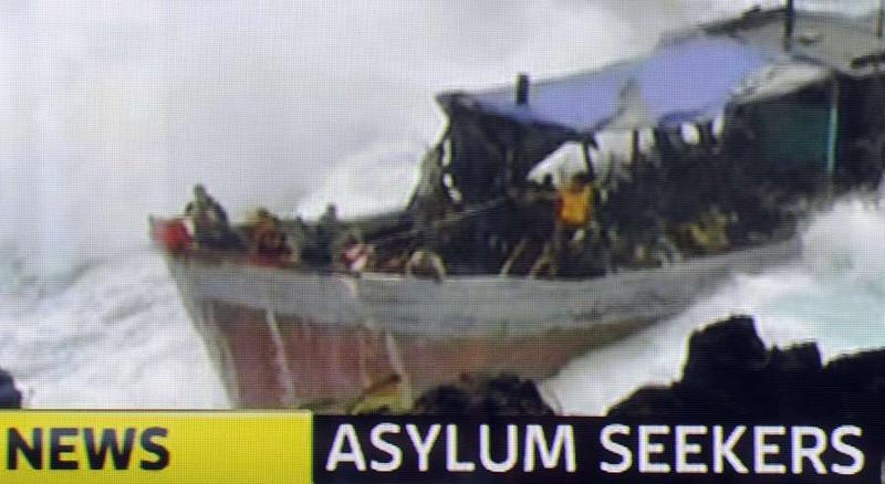 Honderden bootvluchtelingen kwam al om het leven door vanuit Afghanistan, Sri Lanka en Iran via gammele bootjes de overtocht te maken naar Australië.
