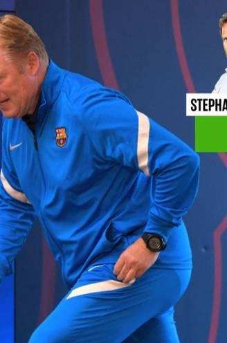 Onze chef voetbal keek naar de persconferentie van Ronald Koeman en zag hoe die blijk gaf van veel persoonlijkheid