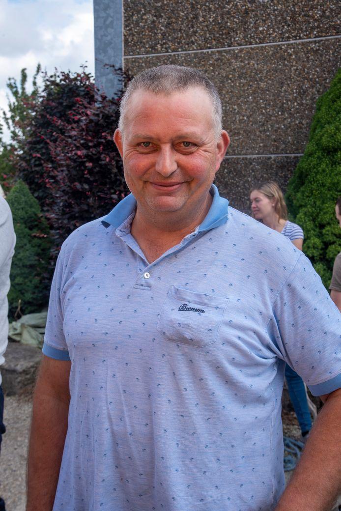 Voorzitter Filip Baele van de bedrijfsgilde Oosterzele.