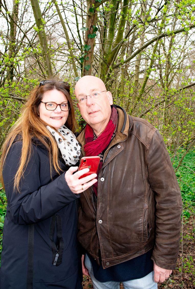 Het echtpaar Iris de Bruijn en Dirk Langedijk. Beeld Marjolein van Damme