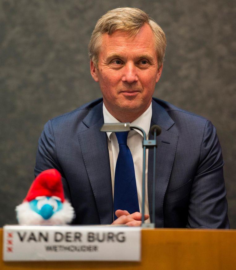 Wethouder Eric van der Burg van Zorg, Grondzaken en Erfpacht. Beeld anp