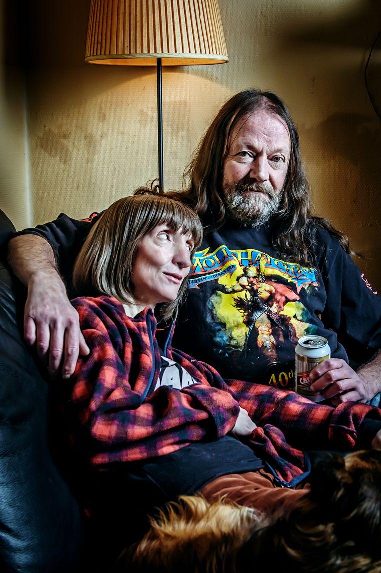 'Dat Delphine drie keer per dag seks wil, is overdreven. Maar toch: ik ben 62 en zij maar 42.' Beeld Geert Van de Velde