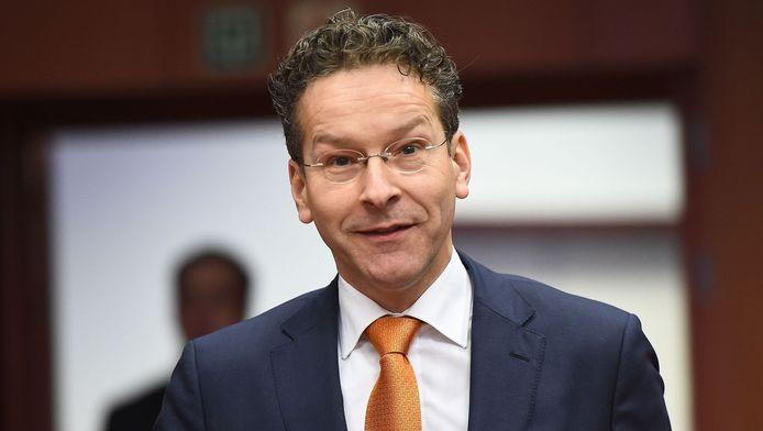 Jeroen Dijsselbloem, président de l'Eurogroupe.