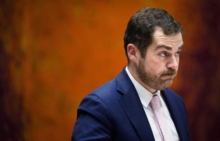 Staatssecretaris Klaas Dijkhoff van Veiligheid en Justitie Beeld anp