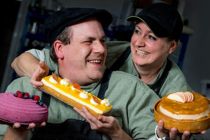 Marco Reijnen en Esther Faasen van Soulutions Pastry & Desserts.