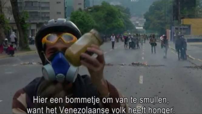 'Molotovkaktail' of 'poopootov': Venezolanen gooien uitwerpselen naar ordediensten
