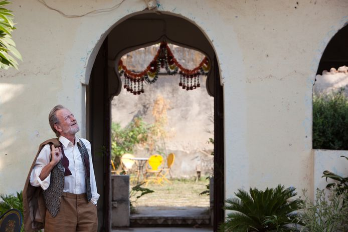 Ronald Pickup (Norman Cousins) in 'The Best Exotic Marigold Hotel'